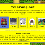 Screenshot of telefang.net